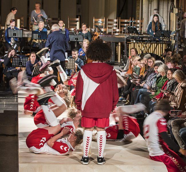 12-11-2011. Utrecht , Domkerk. Opera Martine en Martinus. © wim van der ende